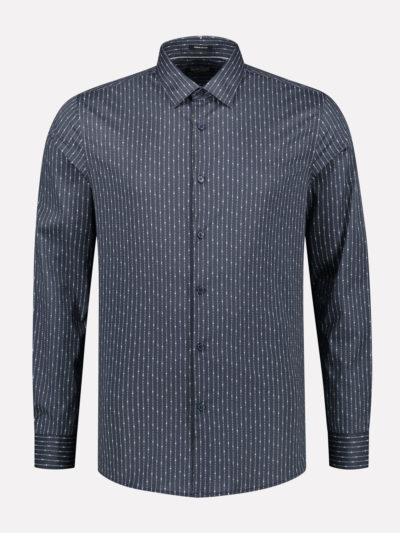 Dstrezzed_heren_Fancy_Shirt_tekst_stripe_lt._Stretch_Poplin_649_product