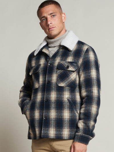Dstrezzed_jassen_Carpenter_jacket_Wool_Check_1