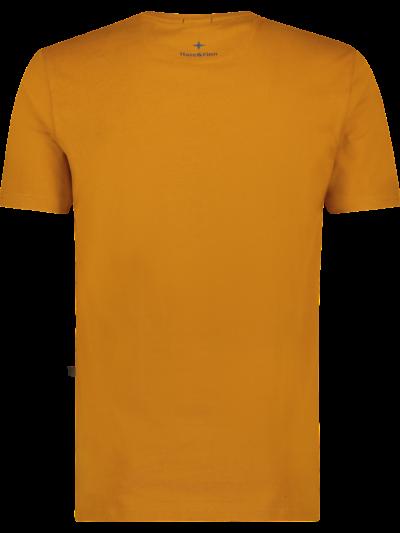 Haze&Finn_heren_Tshirts_Tee_Husky_Embro_PumpkinSpice_Delicioso_2