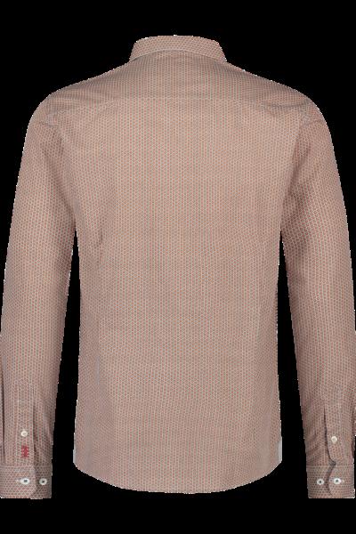 Haze&Finn_heren_overhemden_Italian_fit_Stretch_Shirt_Rotan_Design_2