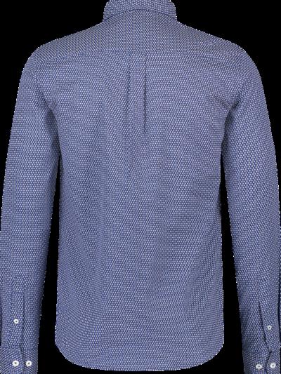 Haze&Finn_heren_overhemden_Regular_Fit_Stretch_shirt_Frenchflowertile_2