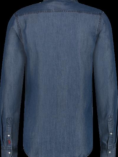 Haze&Finn_heren_overhemden_Shirt_Denim_Medium_Wash_2