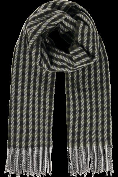 Sjaal Scarf Squares Black-Grey