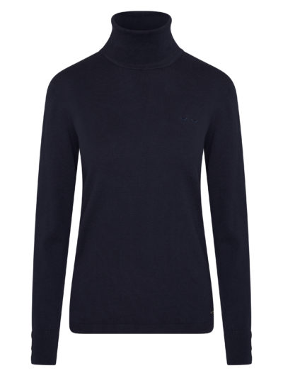 HvPolo_dames_Pullover_with_rollneck_Calinda_blauw_1