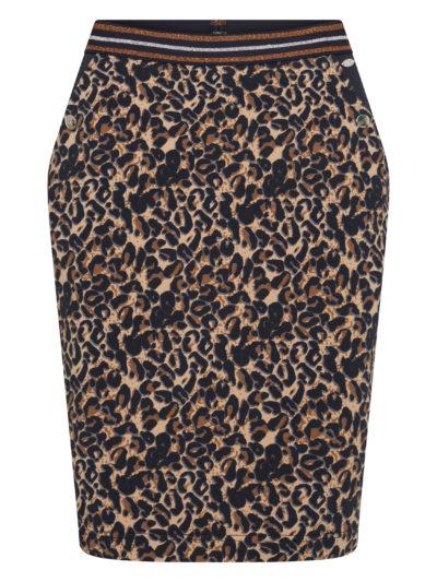 HvPolo_dames_Skirt_Esma_Navy_Leopard_1