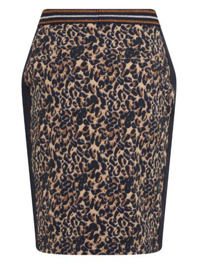 HvPolo_dames_Skirt_Esma_Navy_Leopard_back
