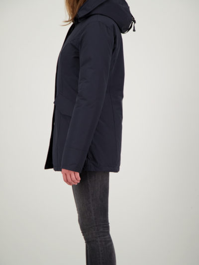 airforce_dames_jassen_2_pocket_parka_Dark_navy_blue_back