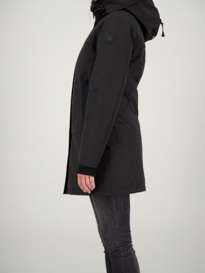 airforce_dames_jassen_Tailor_made_parka_True_Black_side