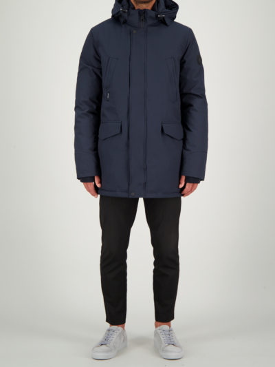 airforce_heren_jassen_SlimFit_Parka_Dark_Blue_Navy_Front