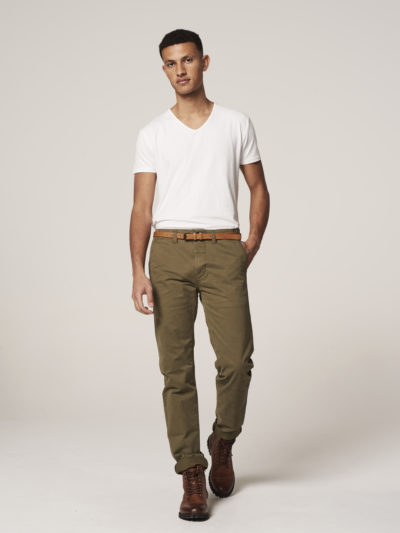 Dstrezzed_heren_Presley_Chino_Pants_With_Belt_Stretch_Twill_Army_Green_3