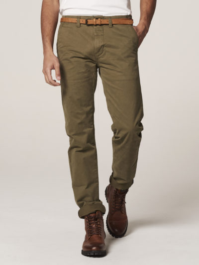 Dstrezzed_heren_Presley_Chino_Pants_With_Belt_Stretch_Twill_Army_green_2