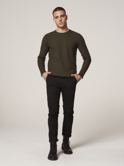 Dstrezzed_heren_Presley_Chino_Pants_With_Belt_Stretch_Twill_Black