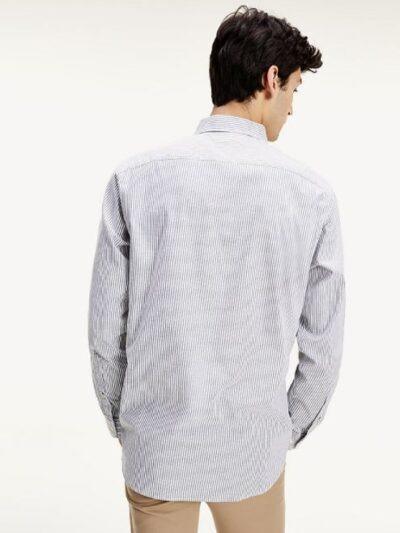 TommyHilfiger_Heren_overhemden_Flex_Refined_oxford_stripe_shirt_0A5_4