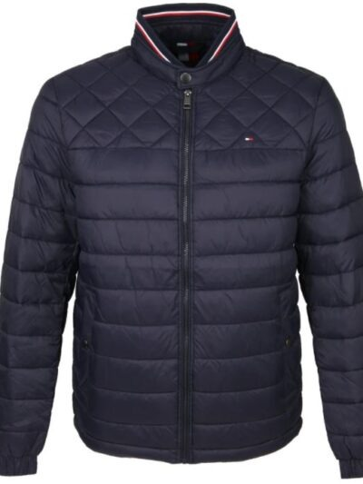 Tommy padded jacket blauw C light weight Desert Sky