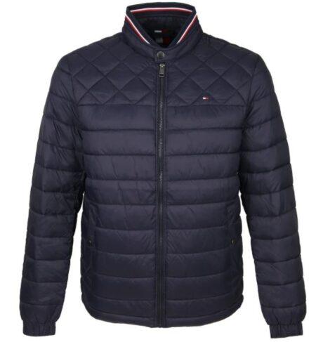 Tommy padded jacket blauw C light weight Desert Sky