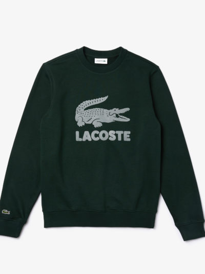 Lacoste sweater logo Sinople