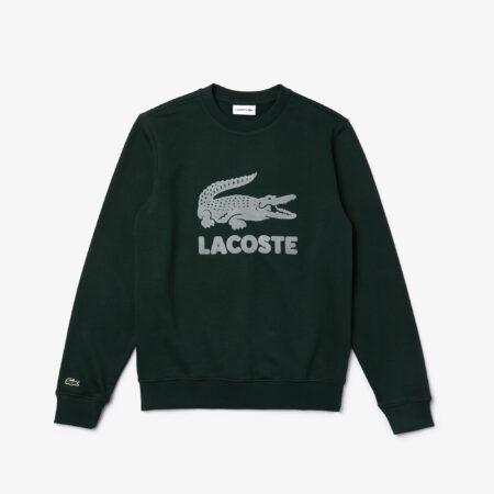 Lacoste sweater logo Sinople