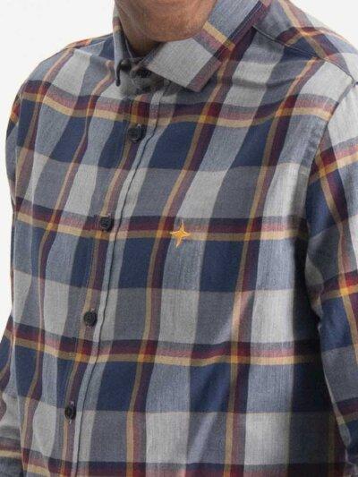 Haze&Finn_heren_T-shirts_tee_Husky_Umbro_oranje_2