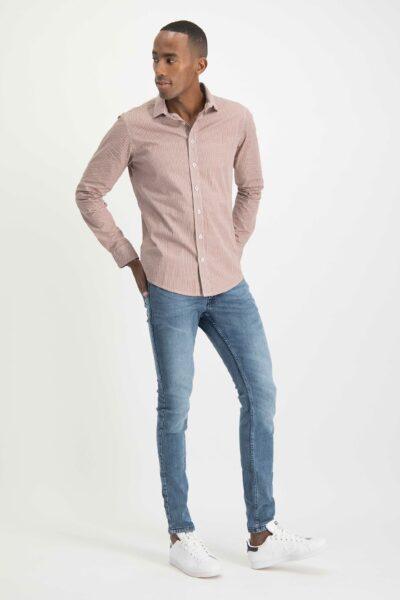 Haze&Finn Italian Stretch Shirt Rotan Design
