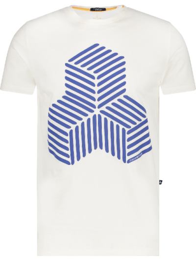 Haze&Finn t-shirt 3Ddesign white