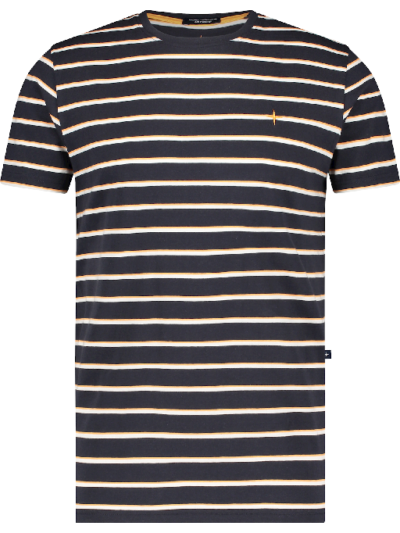 Haze&Finn t-shirt Stripe Navy